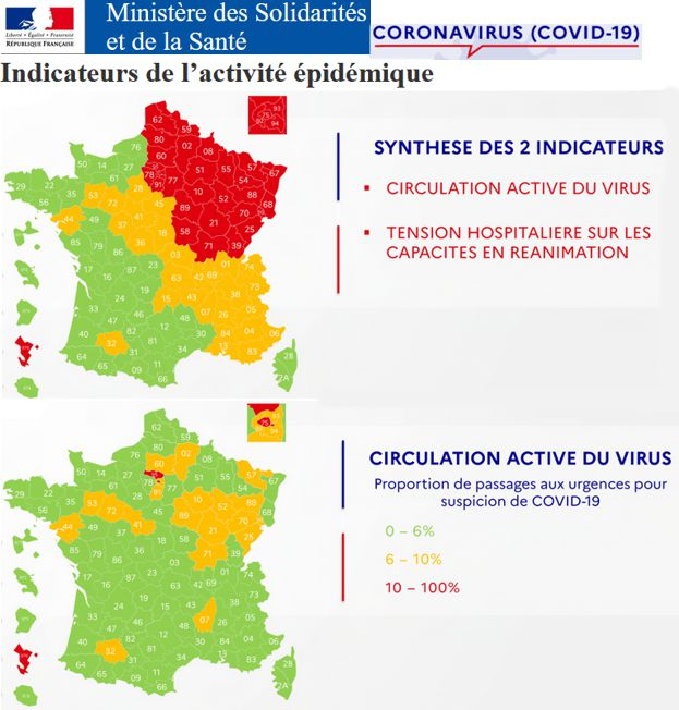 20 Carte Synthese Circulation active virus  Tensions hospitalieres